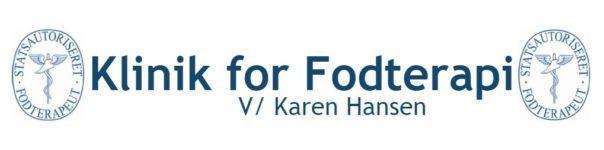 Klinik for Fodterapi v/Karen Hansen